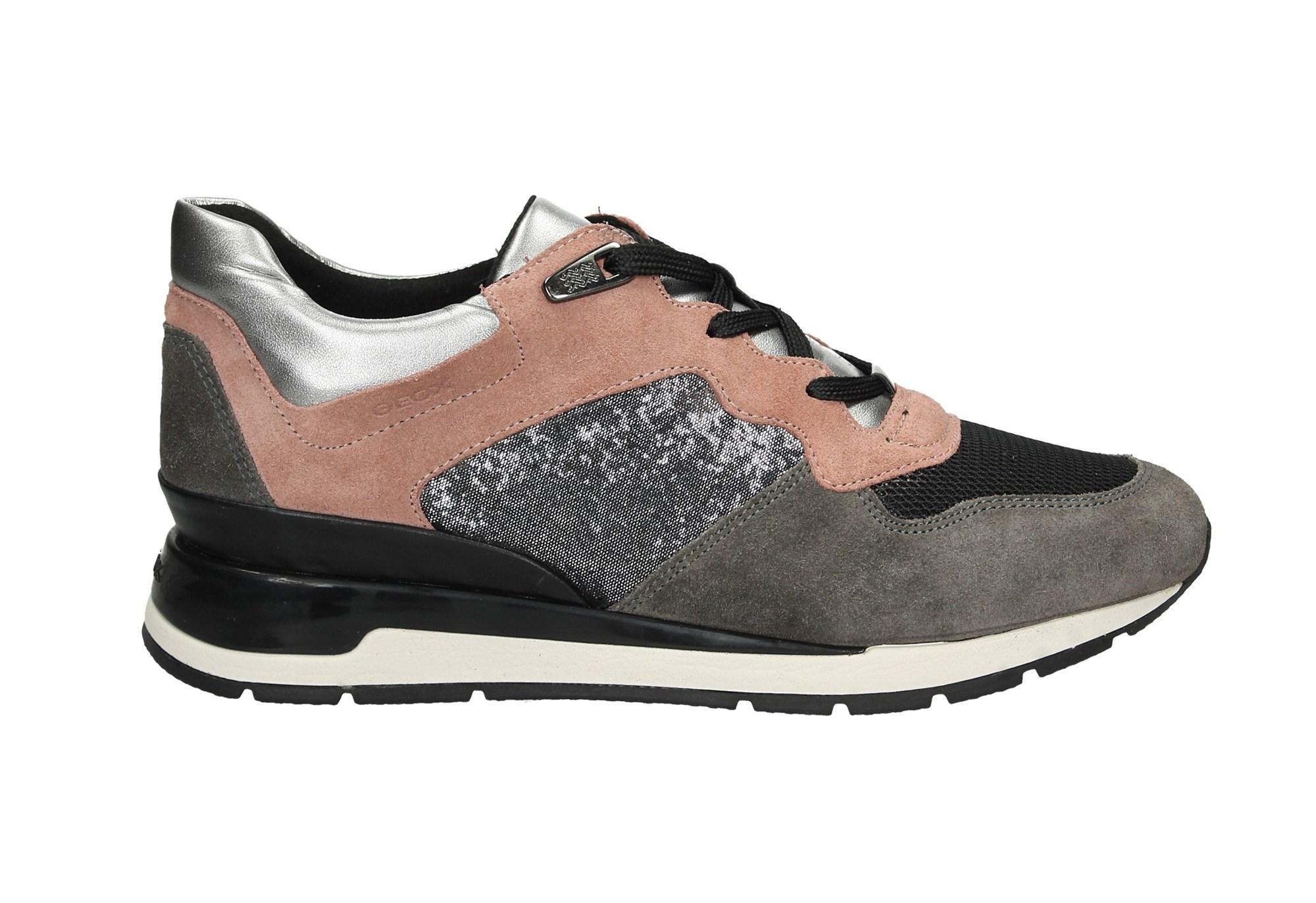 Calzature Geox Principe D44n1a ColorSneaker Donna Multi Bassa u5FlJcTK13