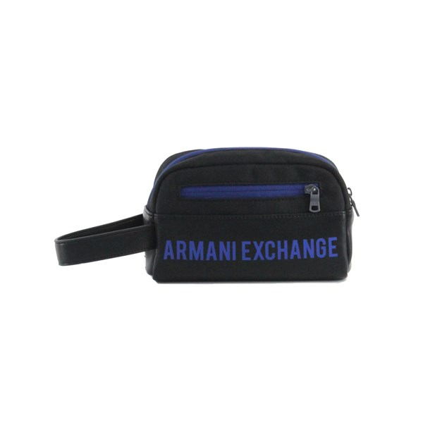Armani Exchange Borse Accessori Uomo Portatutto Nero U 958410