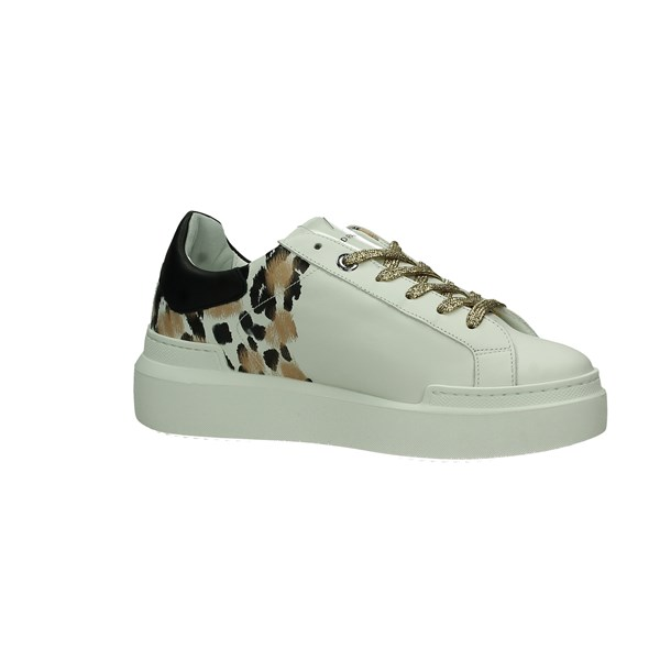 Ed Parrish Scarpe Donna Sneakers Bianco D CKLDPR61