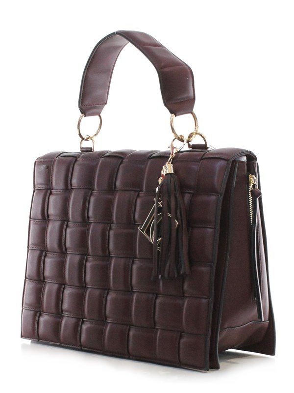 La Carrie Bag Accessori Donna Borsa Bordeaux D102MTL210
