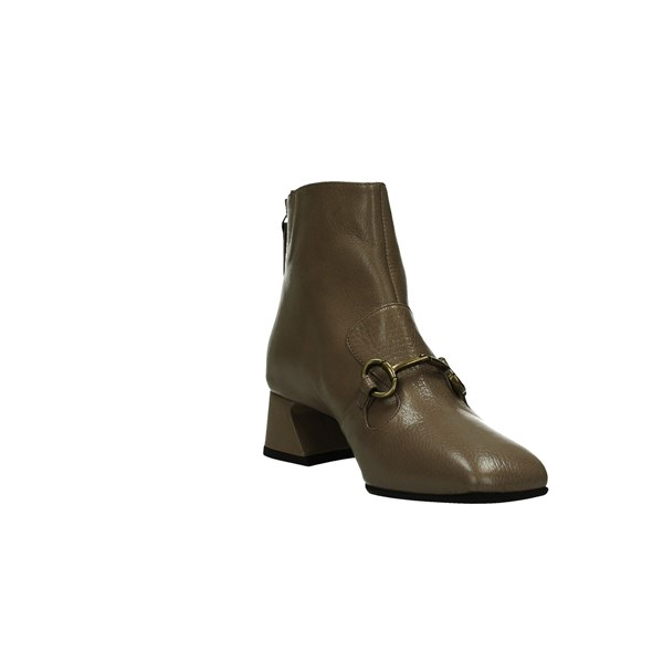 Jeannot Scarpe Donna Tronchetto Taupe D 85153